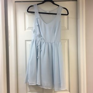 Lauren Conrad Cinderella collection blue dress